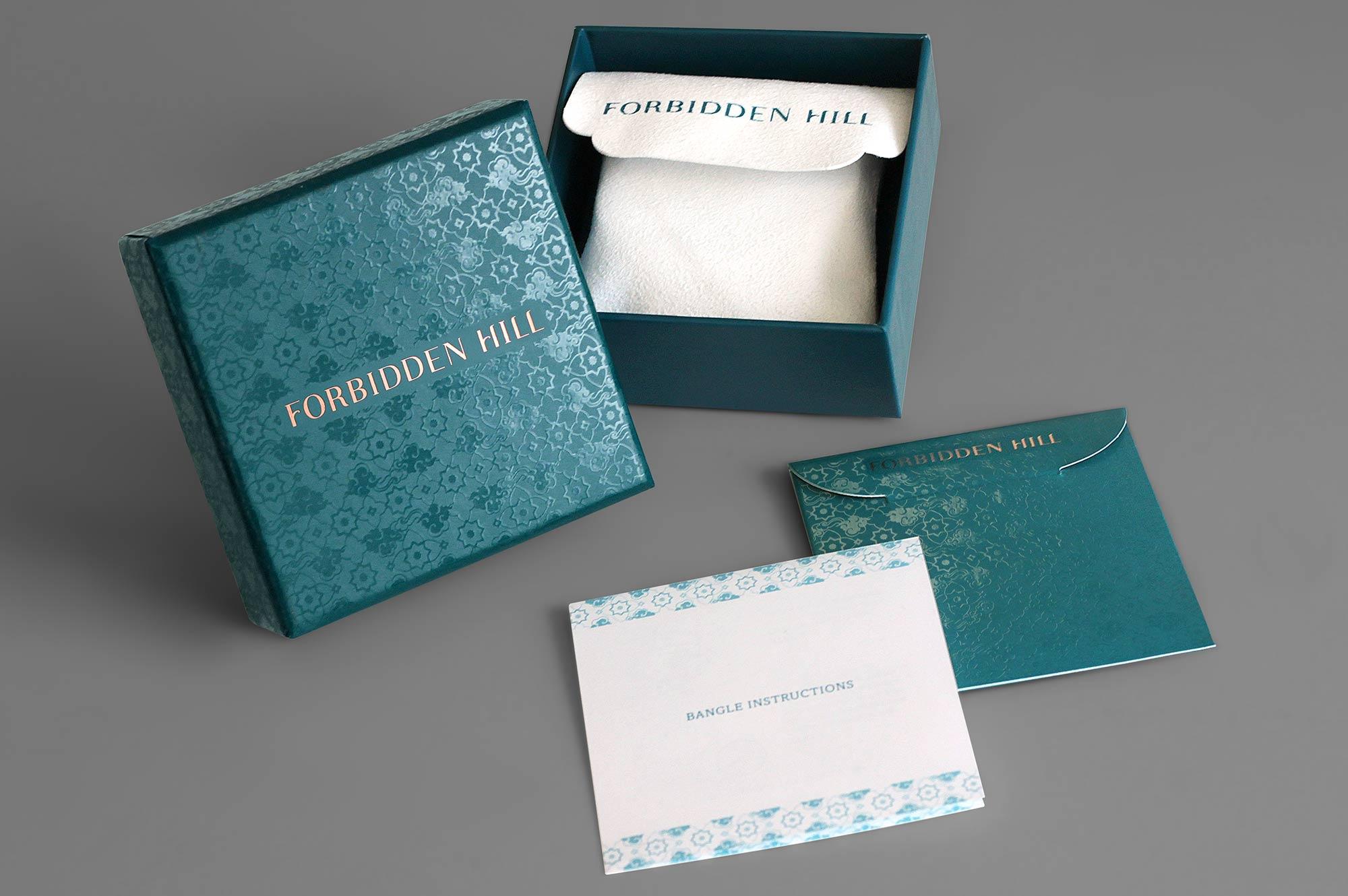 Forbidden Hill Box Packaging Design