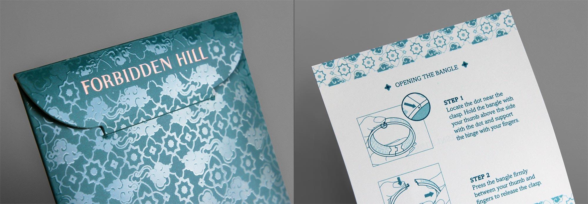 Forbidden Hill Packaging Design
