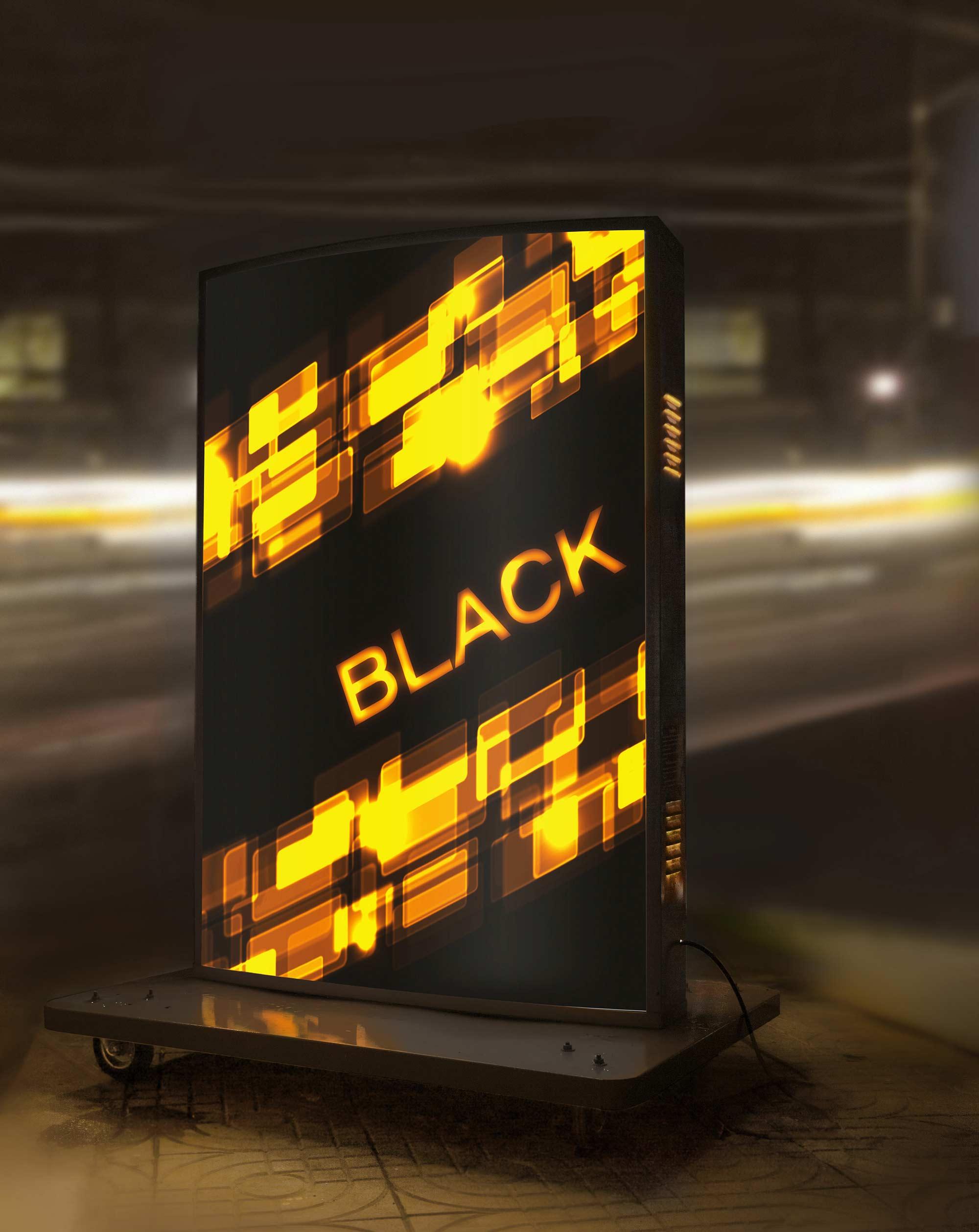 Johnnie Walker Black Label Lightbox