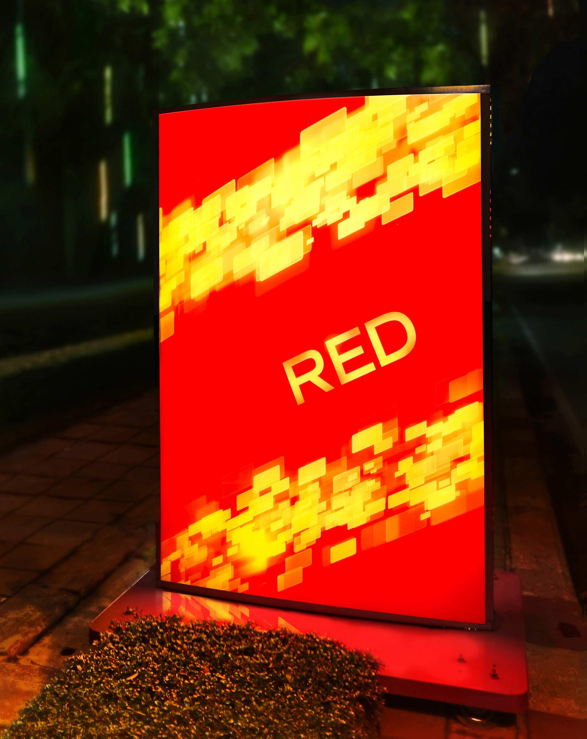 Johnnie Walker Red Label Lightbox