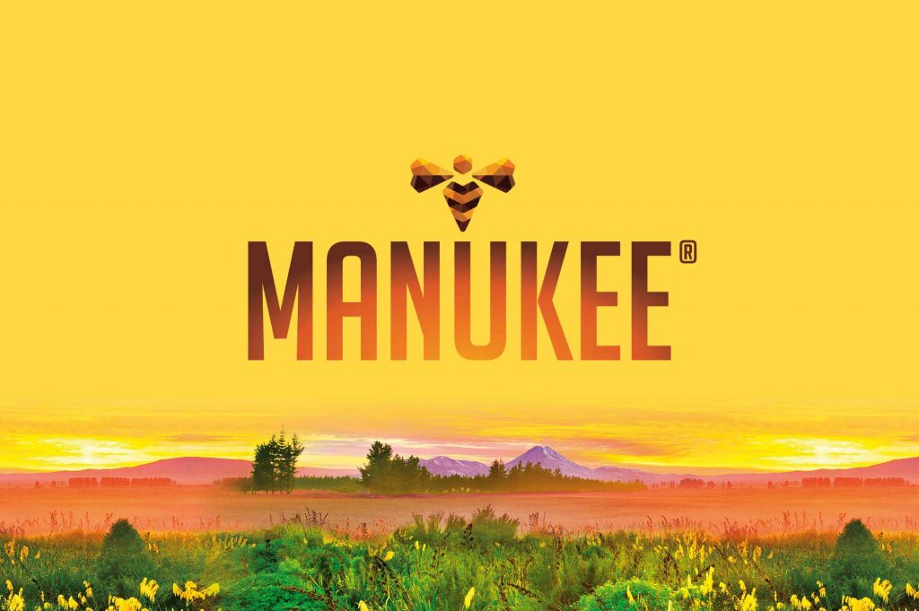 Manukee Honey Brand Logo Featured