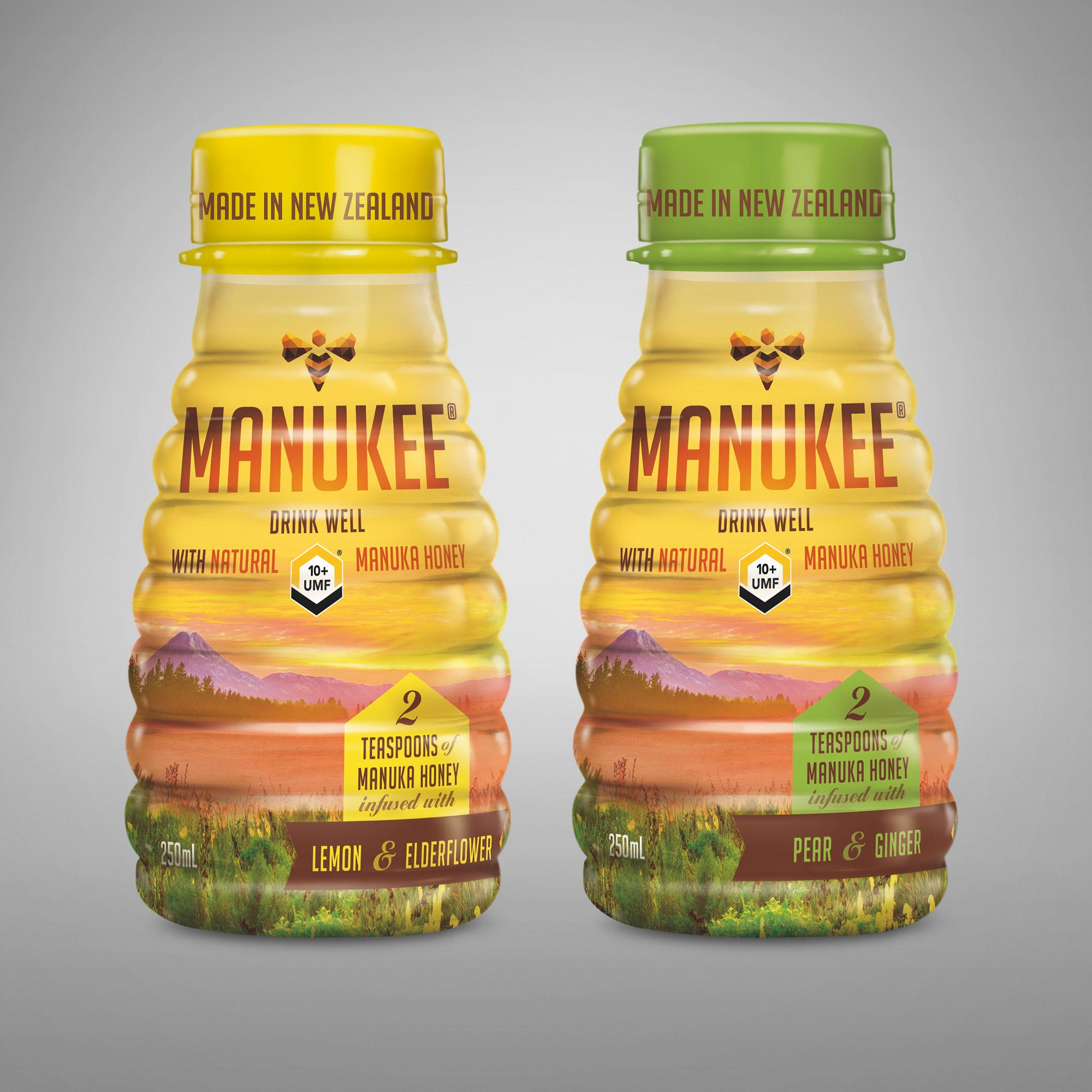 Manukee Honey Brand Packaging