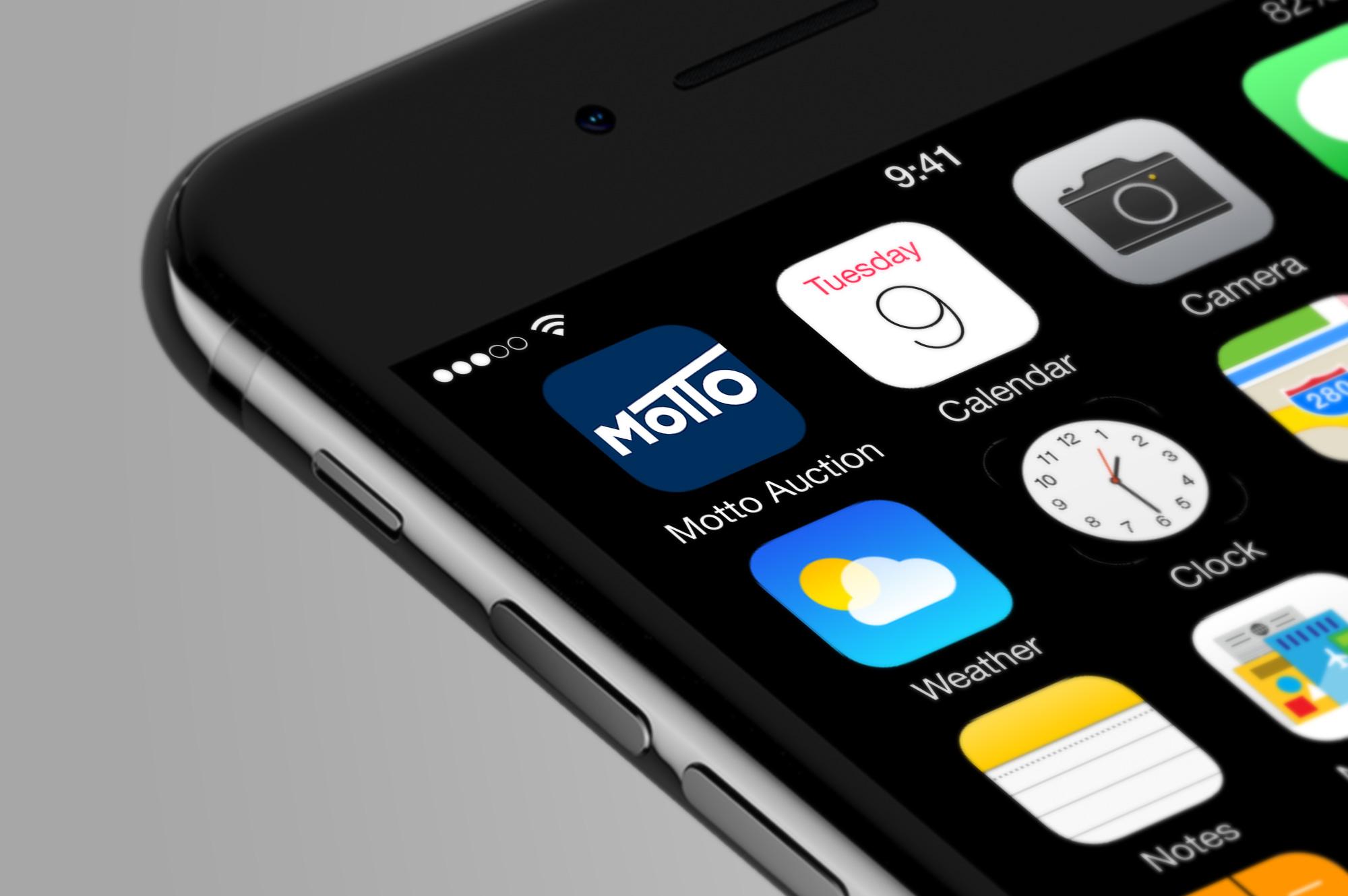 Motto Auction App Icon