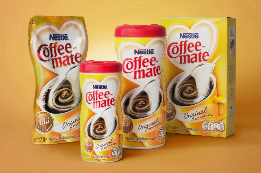 Nestle Coffee Mate Packaging