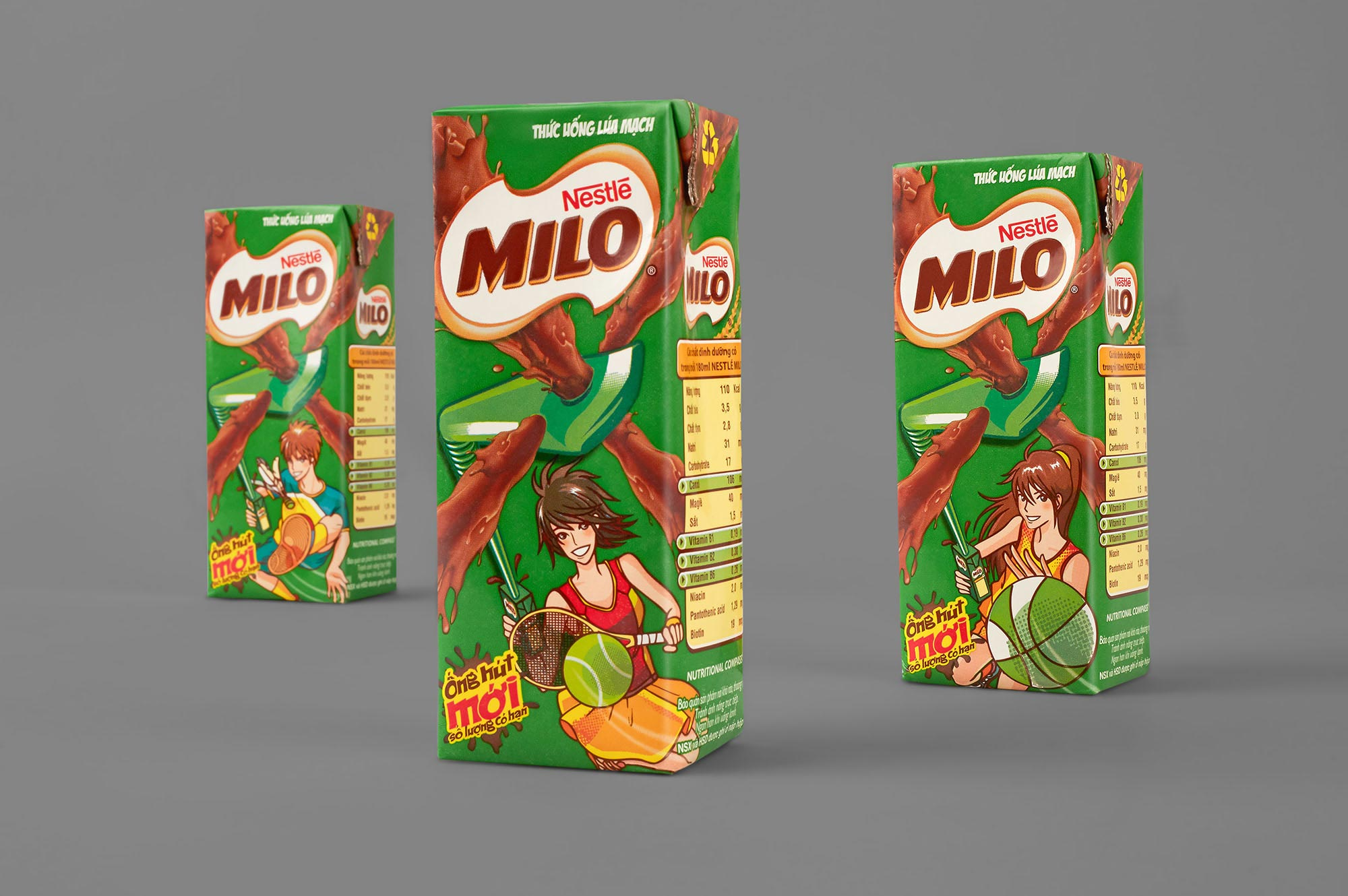 Nestle Milo Brand Packaging Design