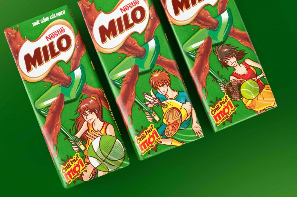 Nestle Milo Packaging Design Featured