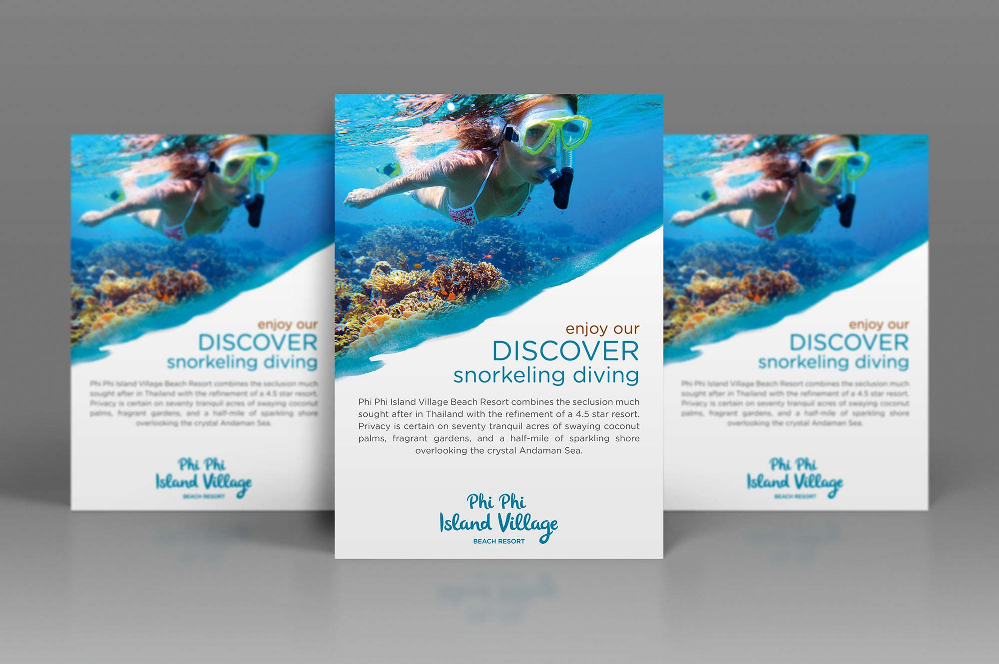 Phi Phi Island Resort Poster Design