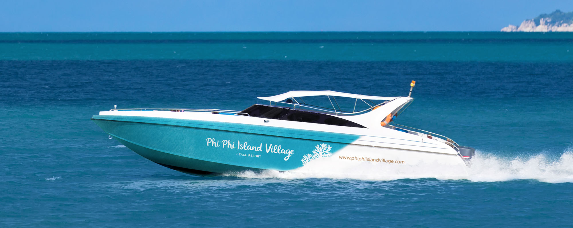 Phi Phi Island Resort Speedboat Design