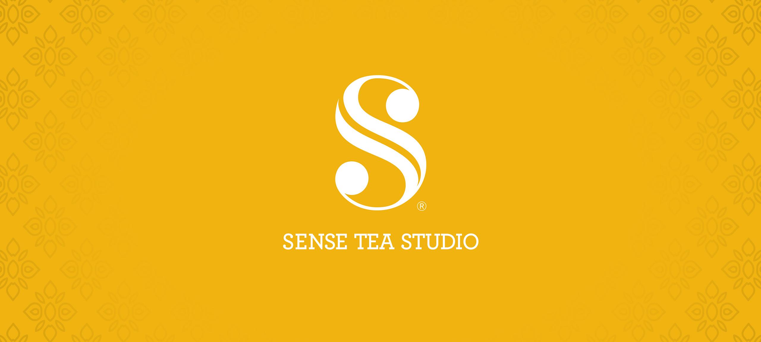 Sense Tea Studio Logo Banner