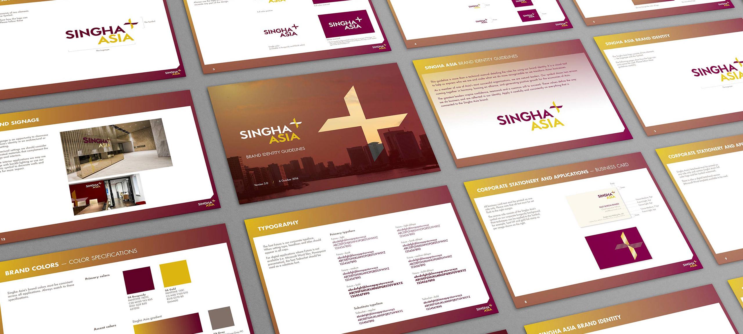 Singha Asia Brand Guidelines Banner