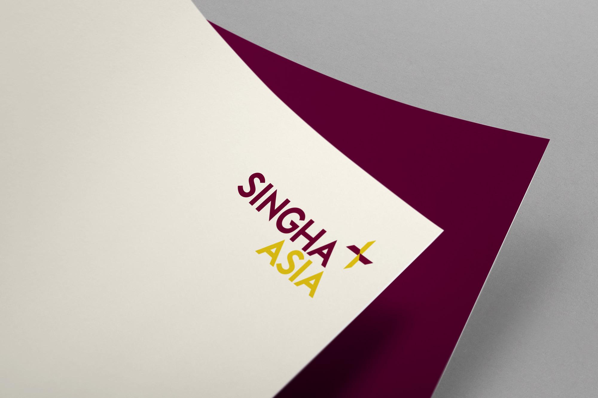 Singha Asia Brand Identity