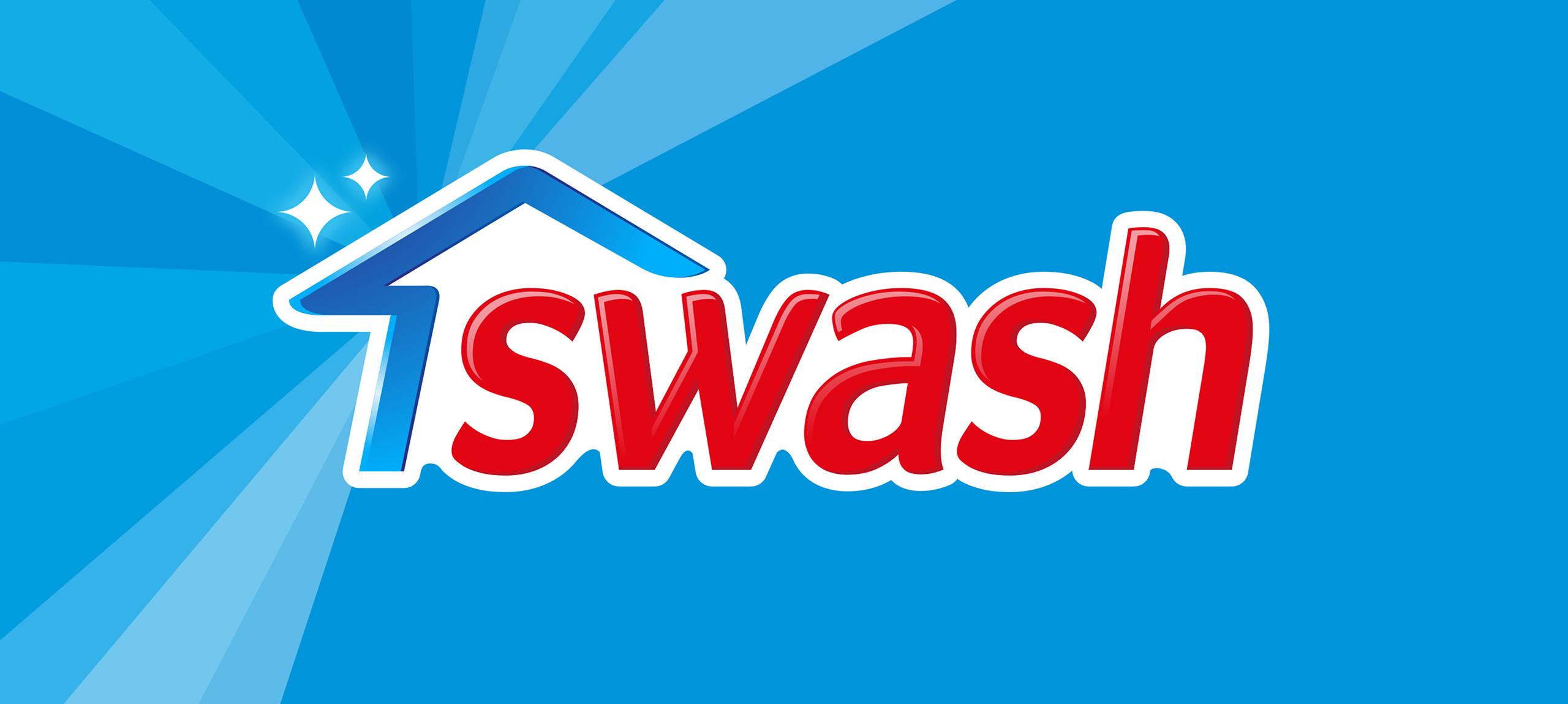 Swash Brand Logo Banner