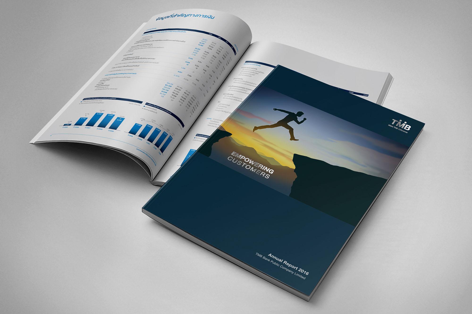 TMB Annual Report Design