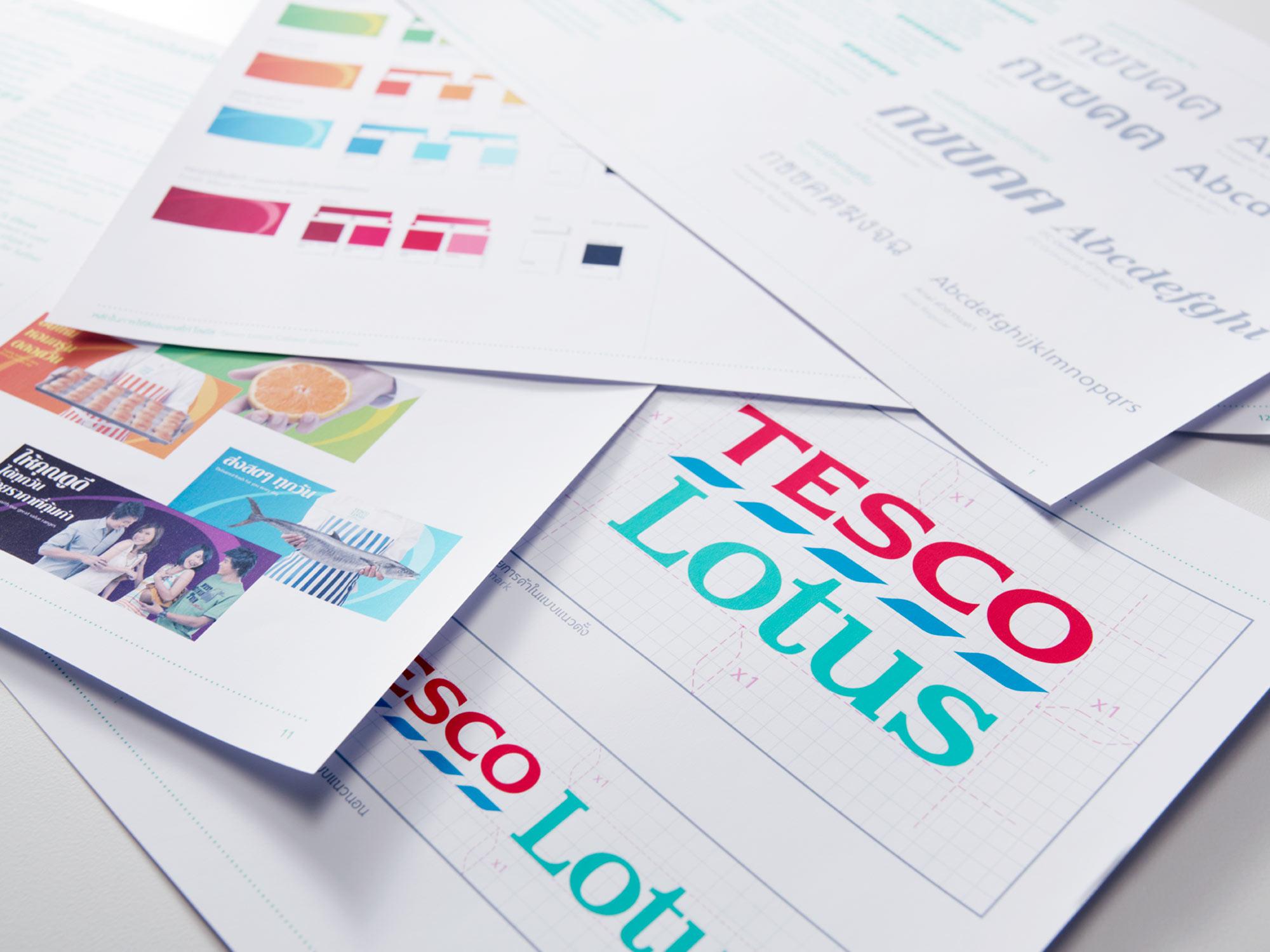 Tesco Lotus Brand Guidelines