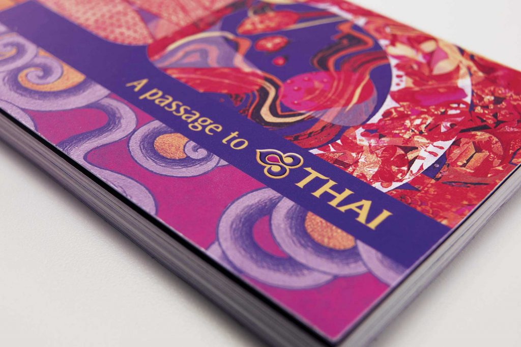Thai Airways Brand Book Featured