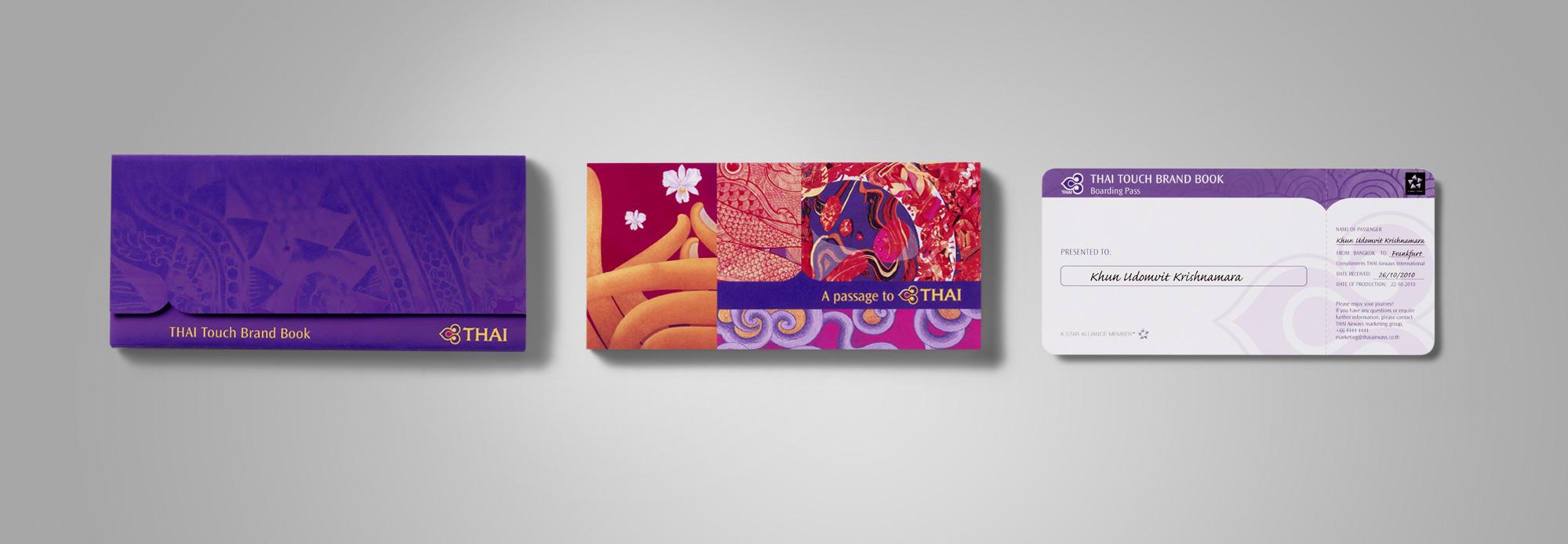 Thai Airways Brand Guidelines Packaging