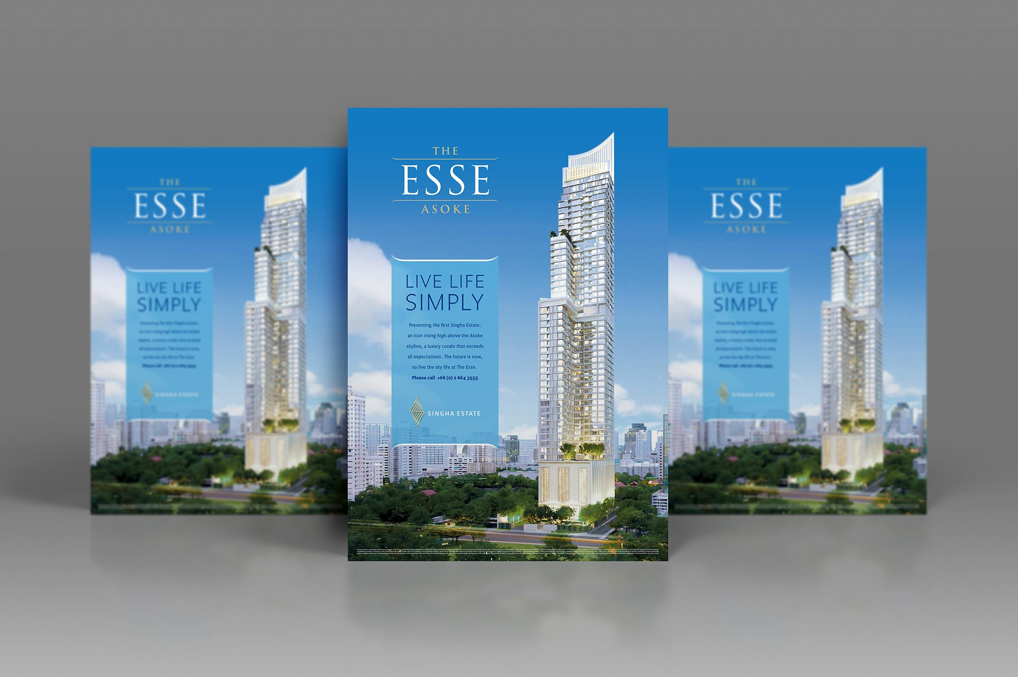The ESSE Asoke Poster Design
