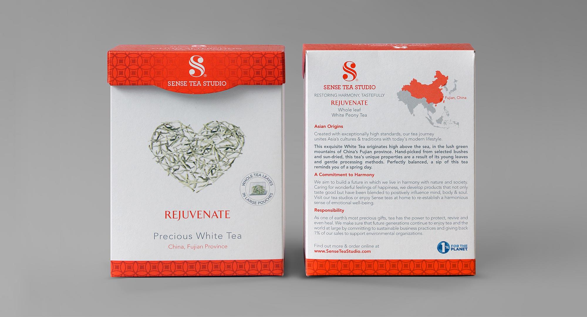 White Tea Packaging Design