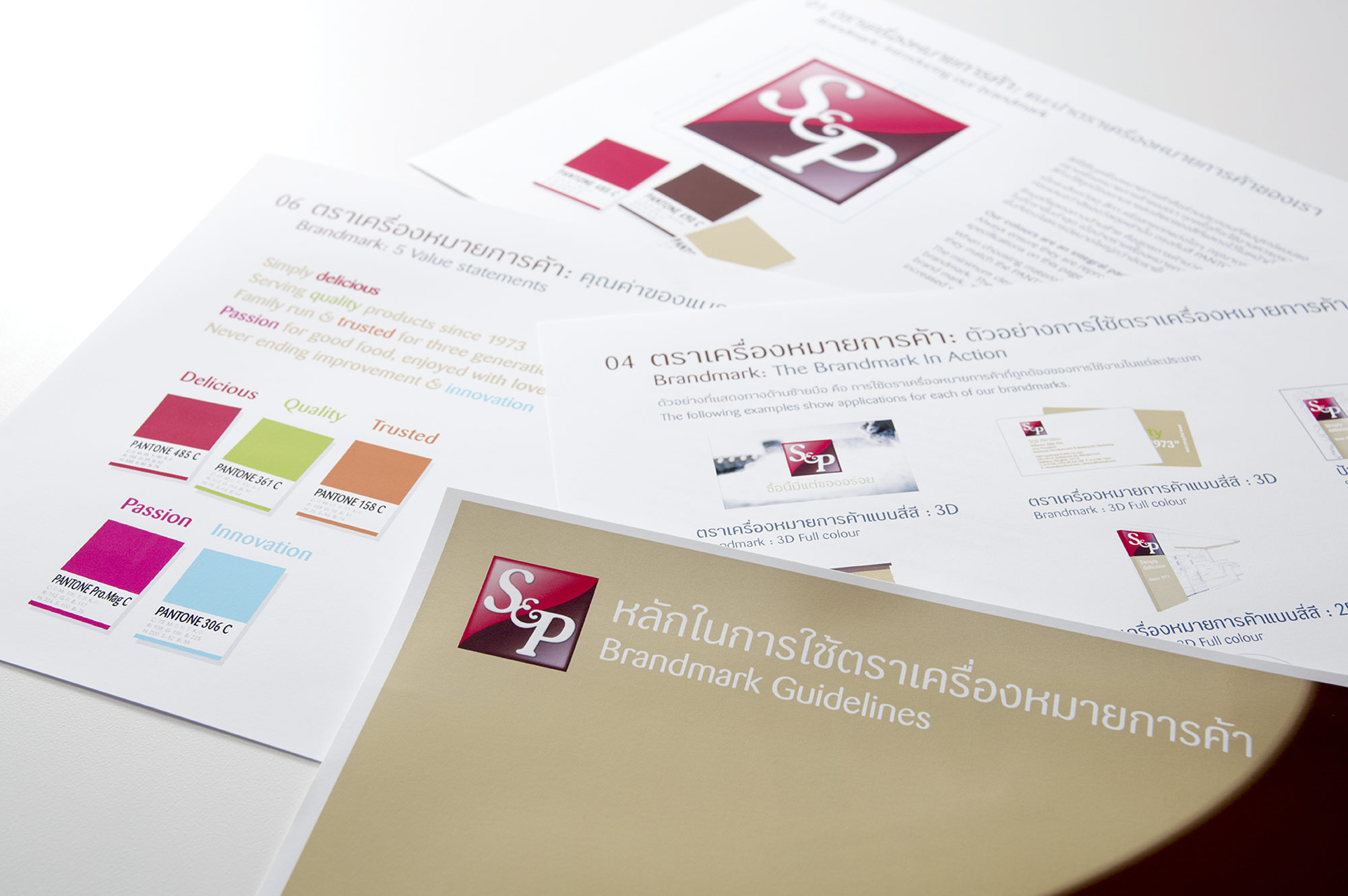 s and p brand guidelines