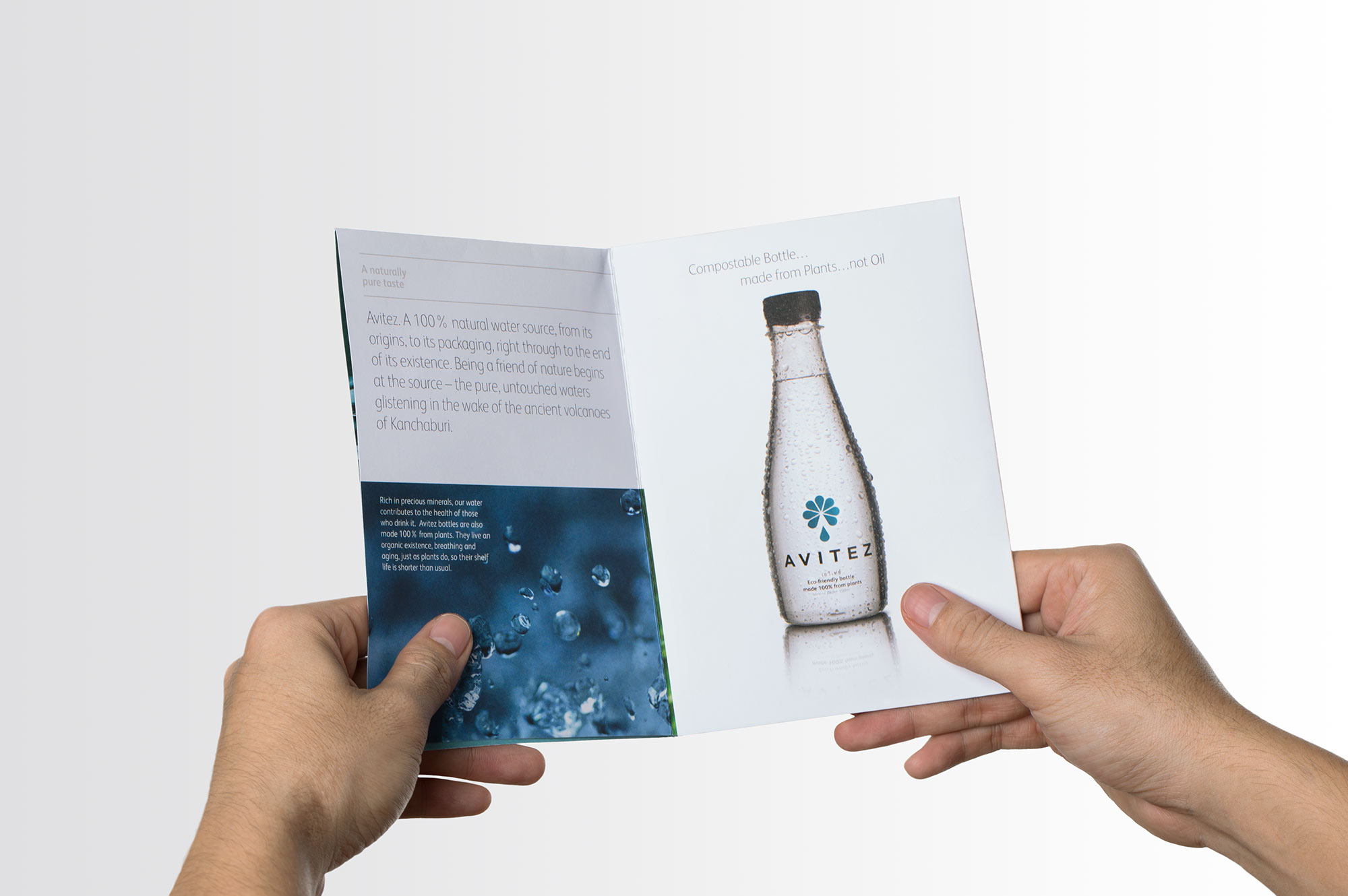 Avitez Water Brochure Design