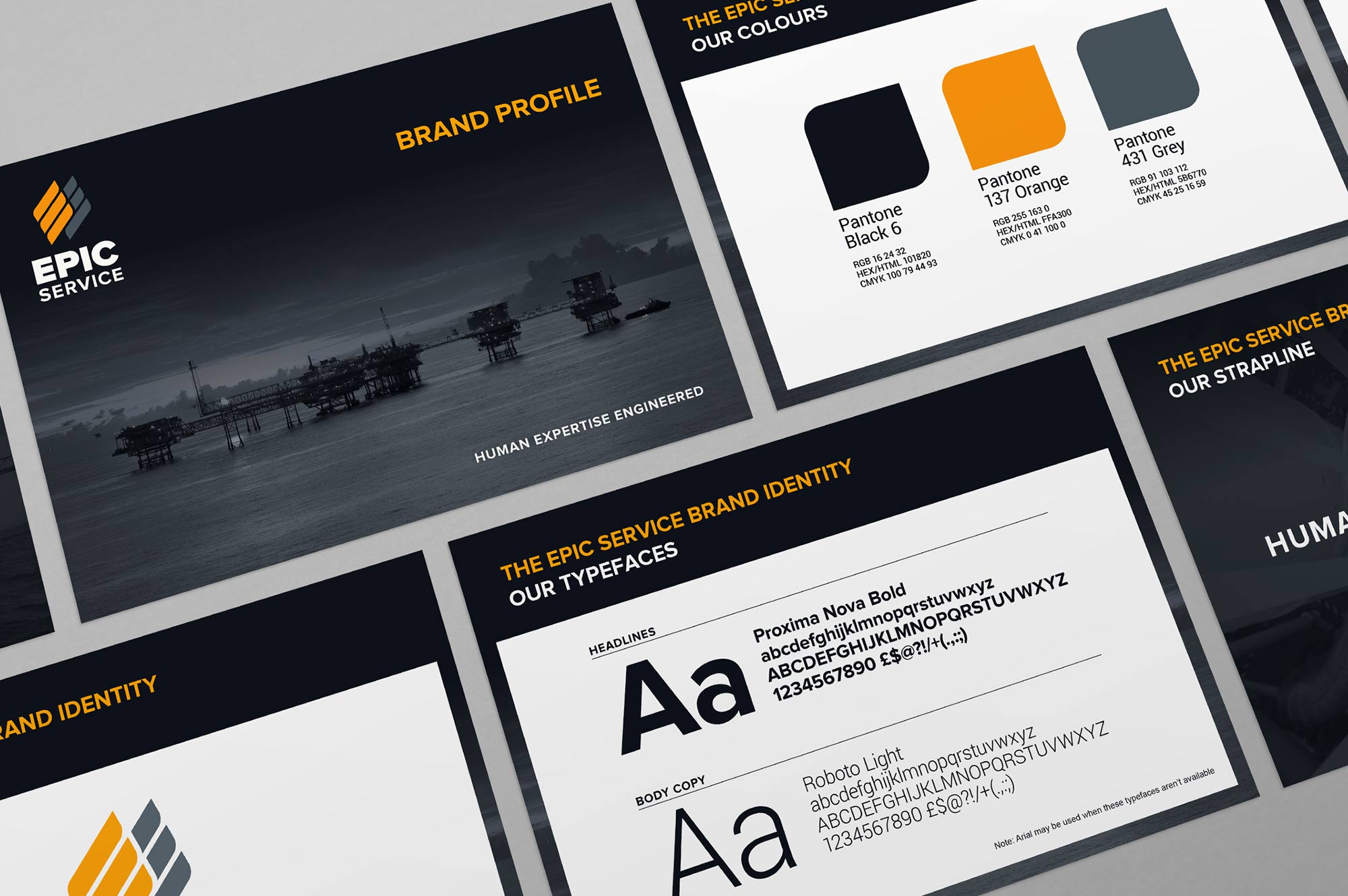 EPIC Service Brand Guidelines