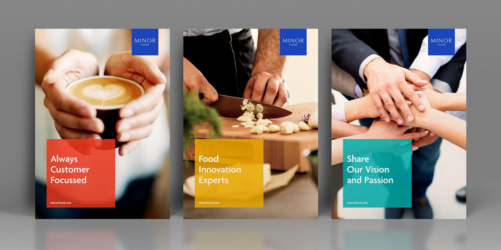 Minor Food Poster Design
