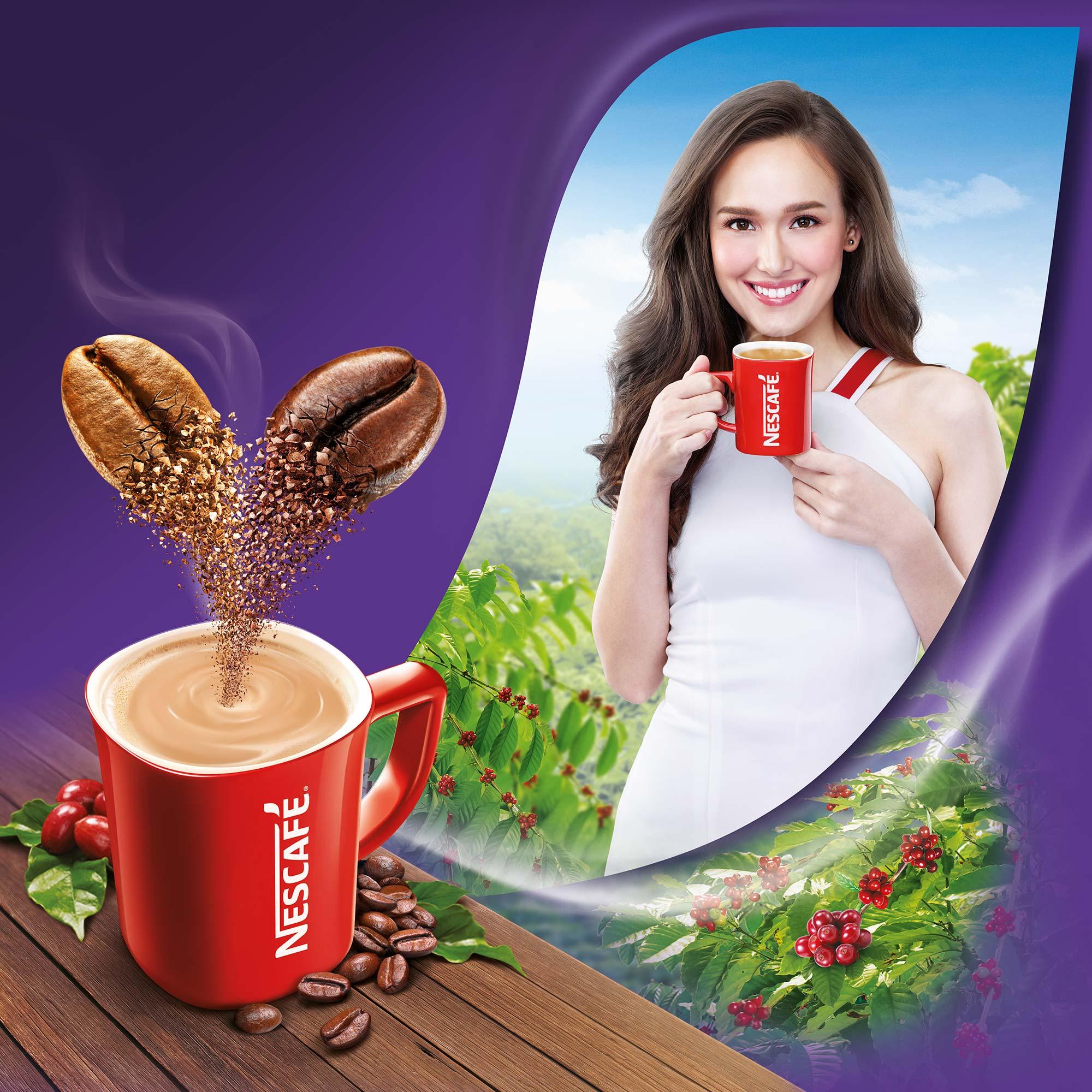 Nescafe Americano Coffee Illustration