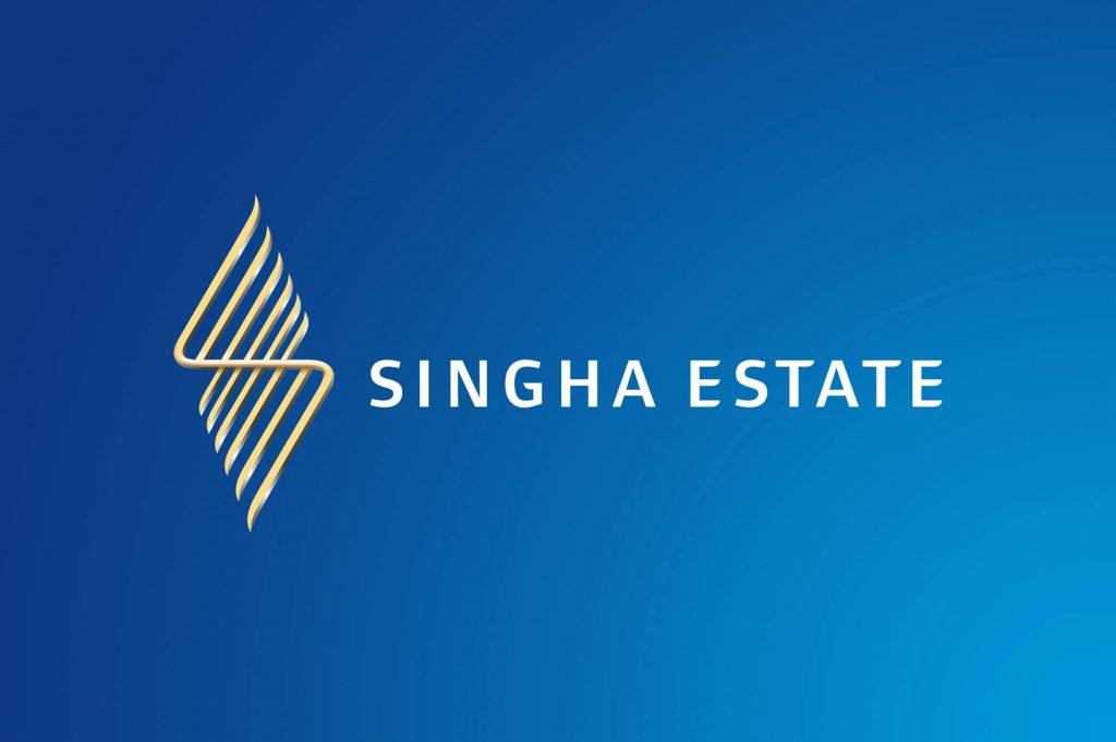 Singha Estate Brand Identity Logo