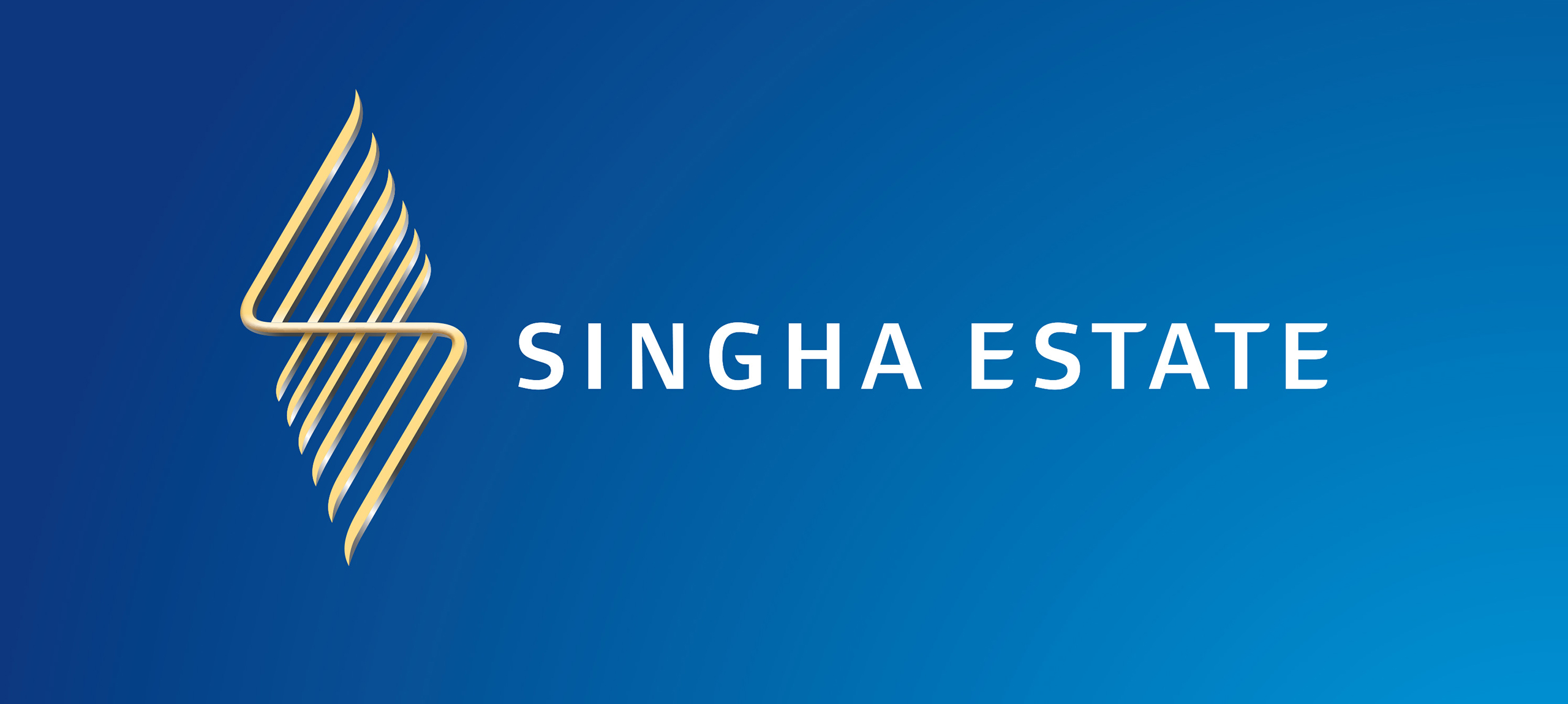 Singha Estate Brand Identity Logo Banner